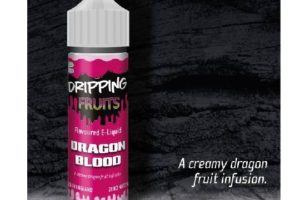 Dripping Dragon Blood E-Juice by Eco Vape