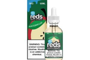 Reds Watermelon Iced E-Juice by 7 Daze